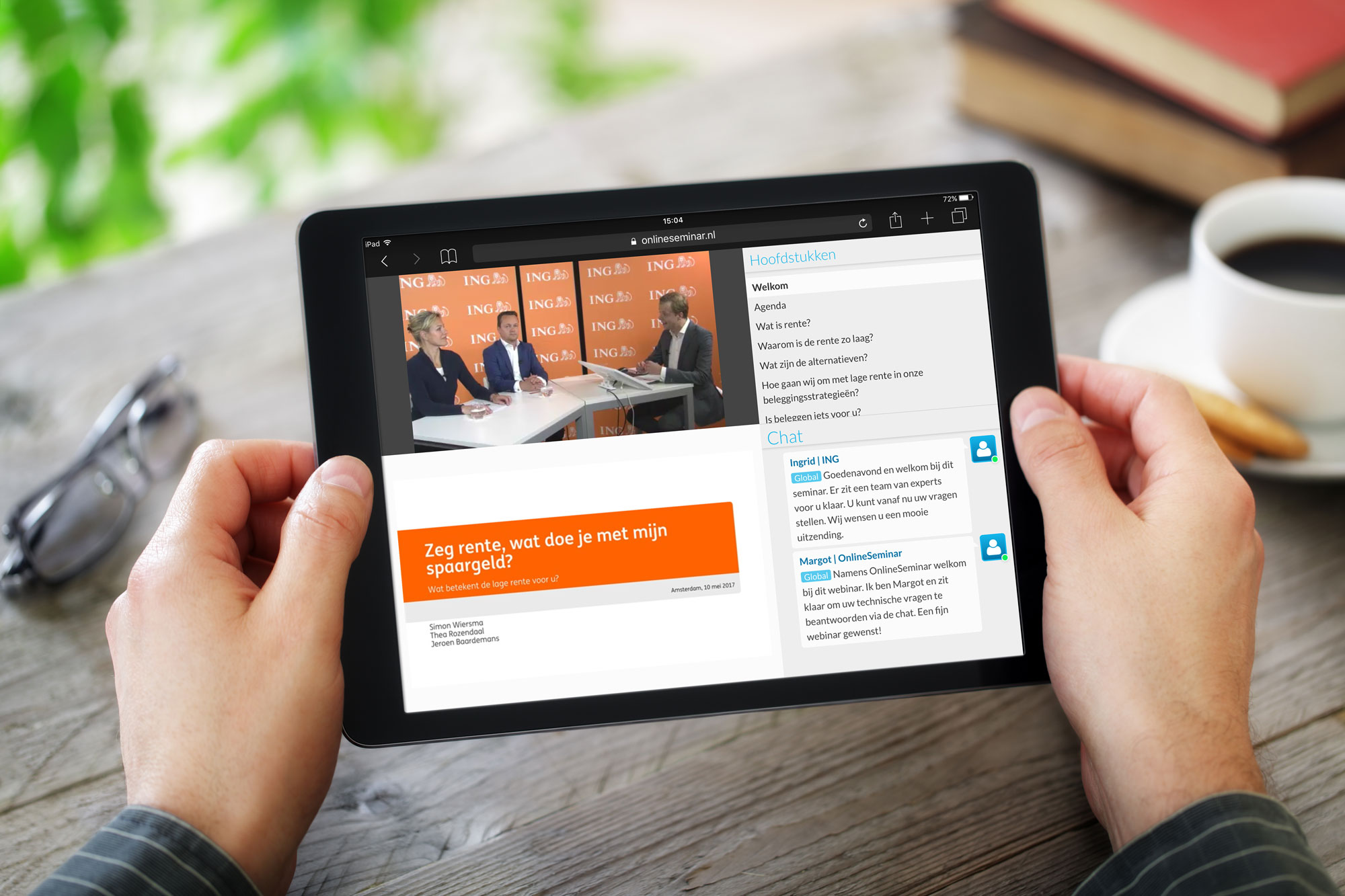 ING shows innovation with HTML5 webinar