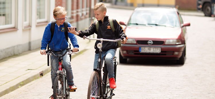 Interactive webinar VVN | Smartphones and children in traffic